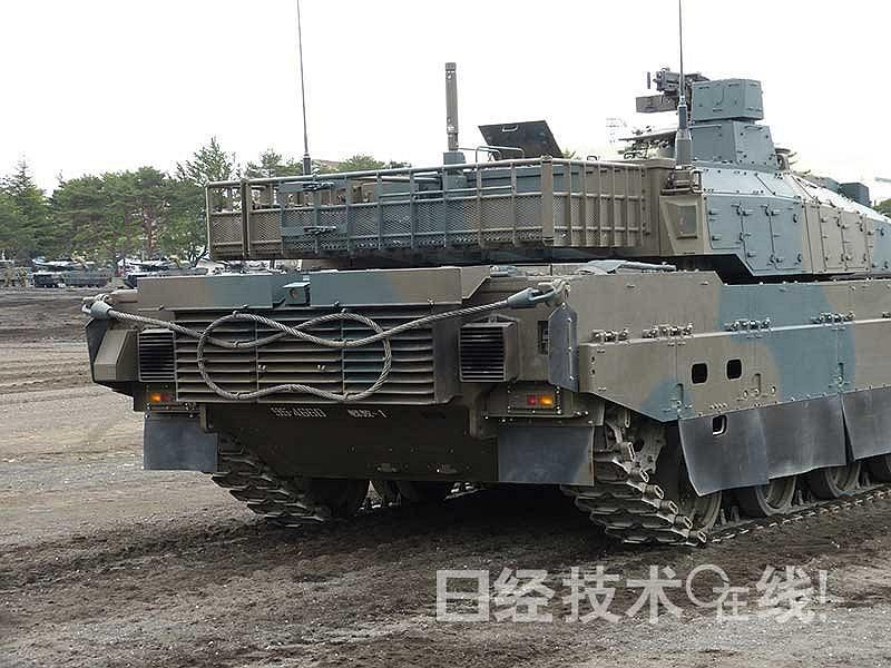 号称亚洲最强!日本10式坦克最新高清细节曝光【10