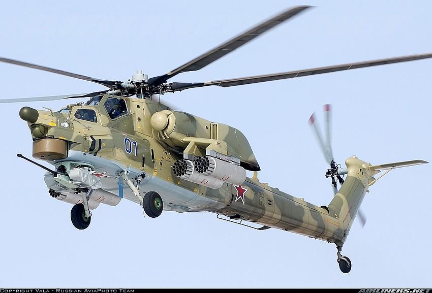 外国网友评世界十大武装直升机