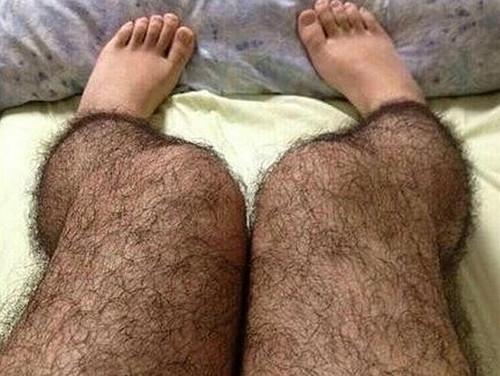 毛腿男人是不是更性感_