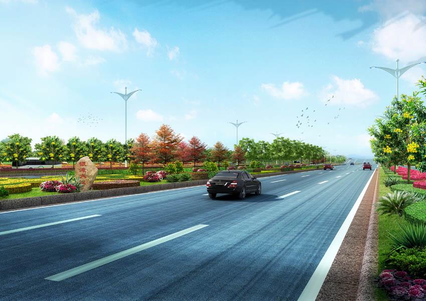 通讯员周国军)记者7月5日在北海银滩大道项目建设工程部了解到,总投资