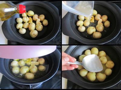 土豆雕刻花步骤图解