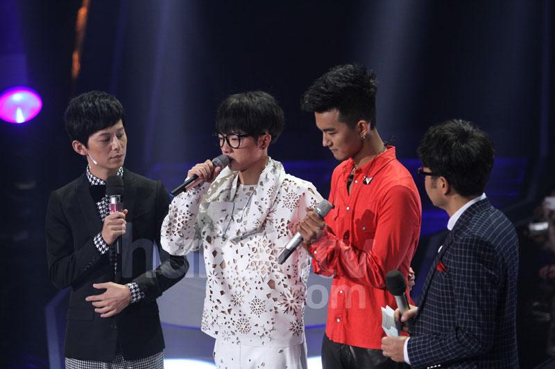 2013快乐男声5进3强 于湉不敌华晨宇首个淘汰高清图片