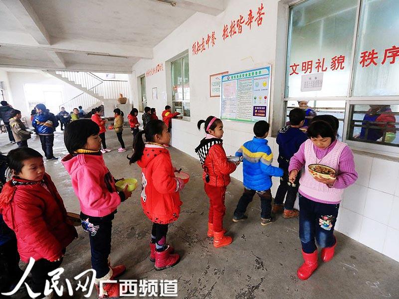 柳州千所上册中小学开设免费午餐综合教案超亿六投入年级农村实践小学资金