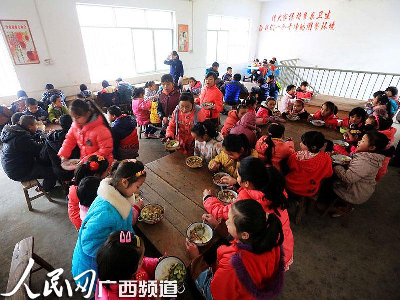 柳州千所小学中小学午餐免费开设v小学资金超亿农村城阳图片
