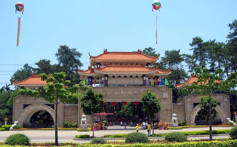 拍摄地巡礼:广西民族大学