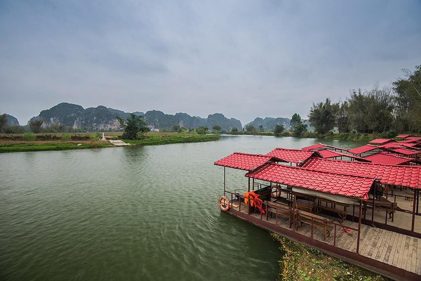 上林三里洋渡风光图片