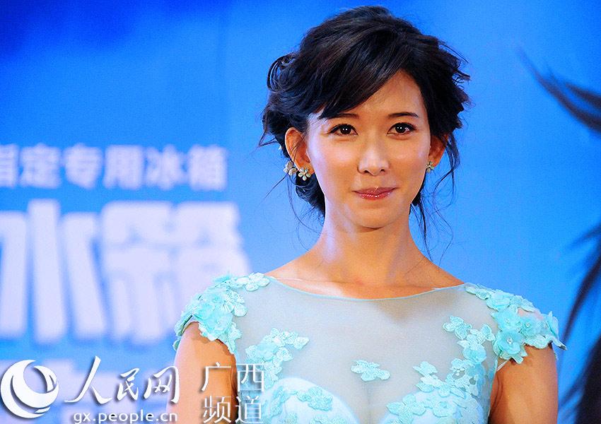人民网南宁7月8日电(罗世立)7月8日上午,台湾第一美女林志玲空降图片