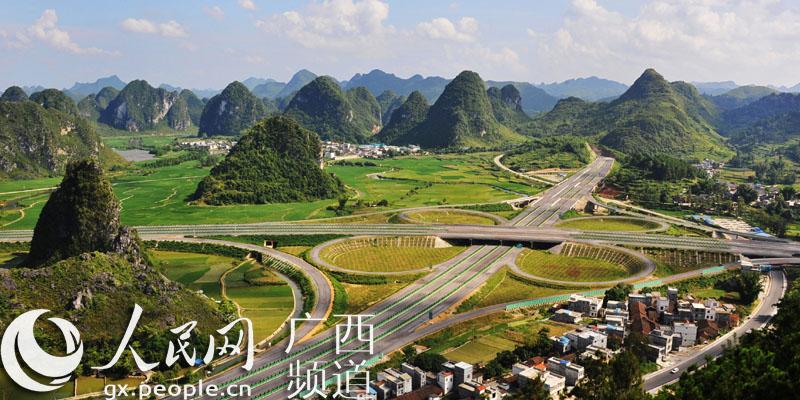 广西百色:靖那高速公路建设进入冲刺收尾阶段【2】