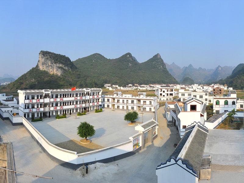 宜州合寨村和谐美丽--人民网广西频道--人民网