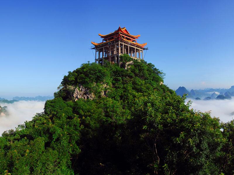 广西宜州祥贝白伟风景