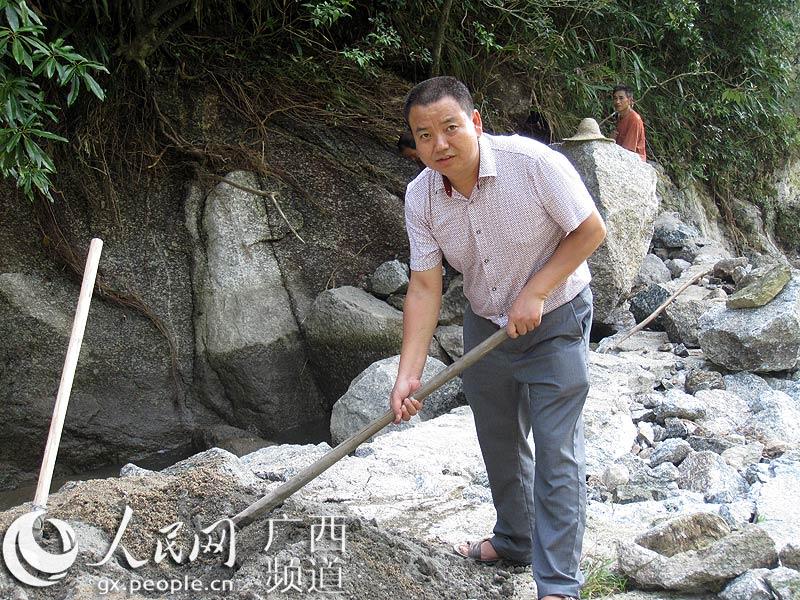 """桂林市资源县梅溪镇咸水洞村""""第一书记""""肖华淑"""