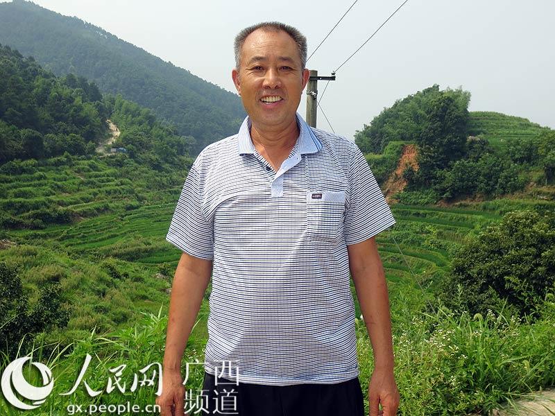 桂林市资源县梅溪镇咸水口村党总支部书记罗传华