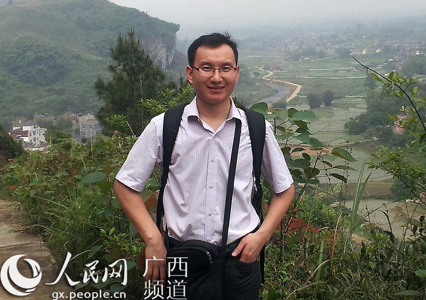 贺州市八步区桂岭镇天堂村第一书记陈国信