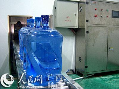 在该县玉洪瑶族乡那洪村岑山泉矿泉水生产项目