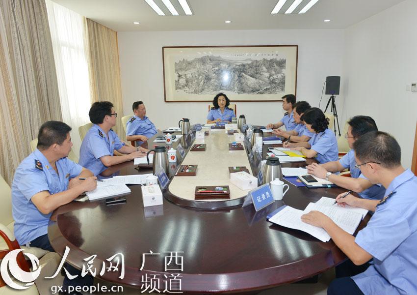 局党组传达学习党的十八届四中全会精神