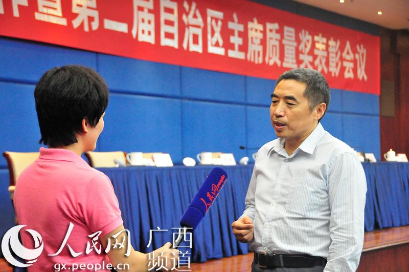 广西田园生化股份有限公司代表接受人民网专访