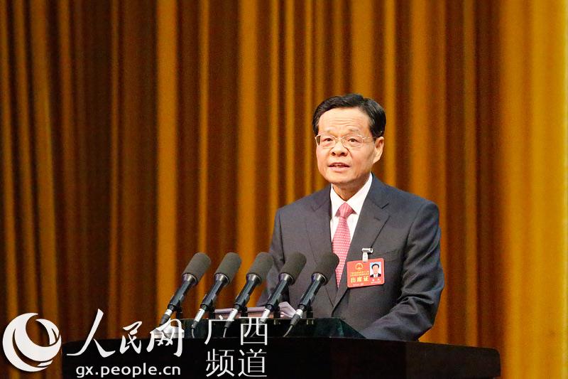 {2017年广西壮族自治区人民政府工作报告}.