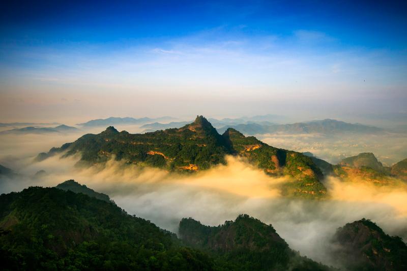 广西容县南山风景