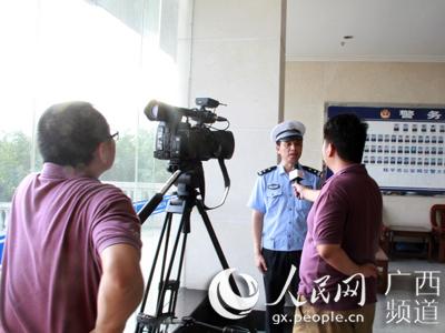 央视开展校园交通安全宣传教育采访