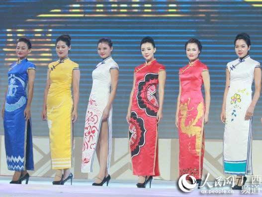 旗袍折纸步骤图解