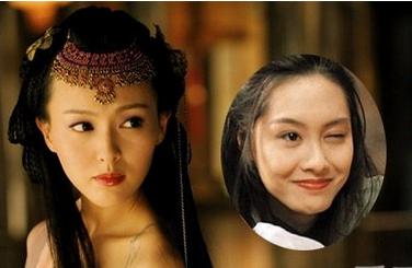 朱茵的古代发型分享展示图片