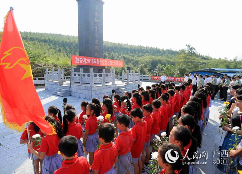 在广西柳州市融安县浮石镇