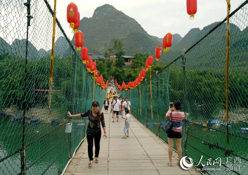 高清:宜州旅游持续增温--人民网...