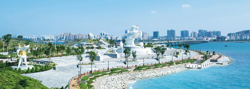 广西建工一建承建的防城港市龙马-明珠广场