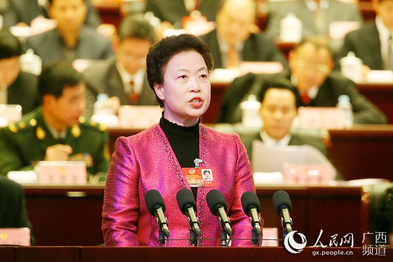 广西政协十一届四次会议开幕 献计 十三五 规划