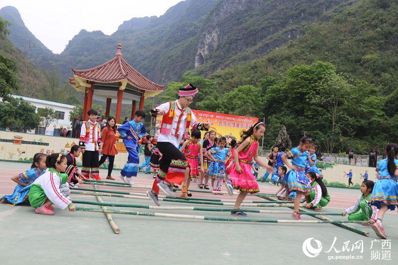 大化举行庆祝三月三民族风情展示活动