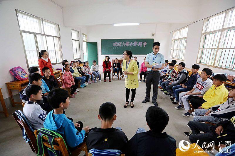 在广西柳州市融安县浮石镇东江小学