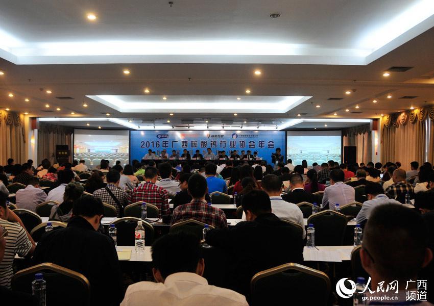 2016年广西碳酸钙行业协会年会在南宁召开