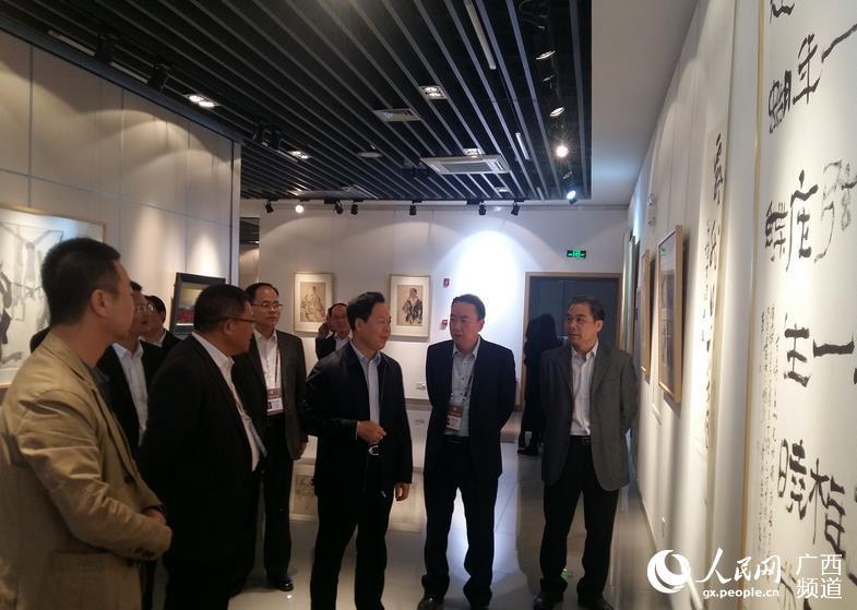 崇左市与广西艺术学院签署合作框架协议
