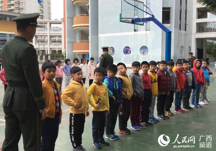 南宁市小学路滨湖军训开展v小学多少小学号寒假放图片
