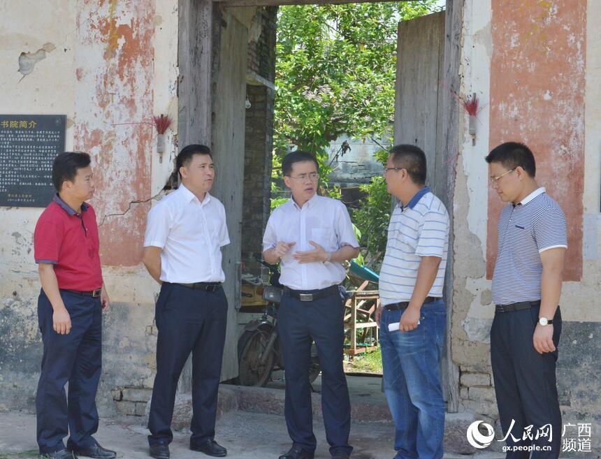 人民网广西频道 专题集 博白视窗 博白要闻  登录  6月12日,县委书记