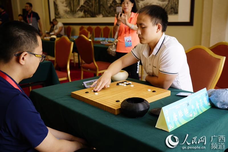 7月5日,第十三届全运会群众比赛项目围棋、国际象棋决赛在天津市