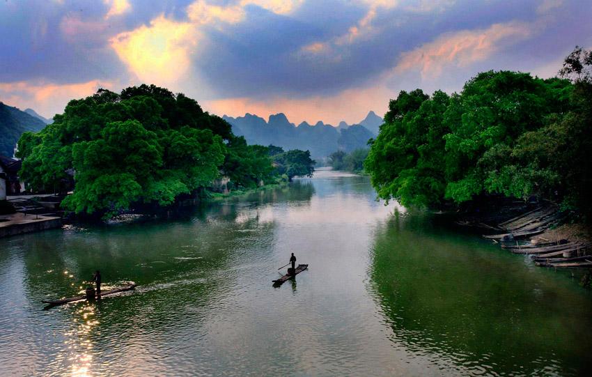 广西鹿寨中度风景