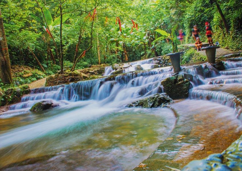 青山公园景区——青山瀑布