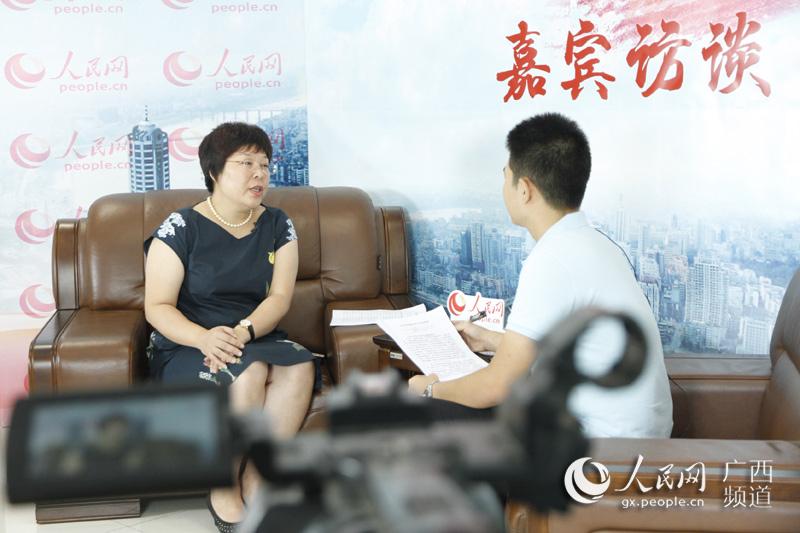 柳州市城中区委书记金忠接受人民网专访