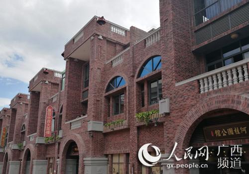 广西容县容州民国小镇正式开门迎客