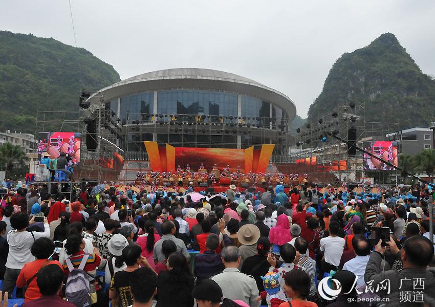 马山第十届文化旅游美食节--人民网广西频道--人民网