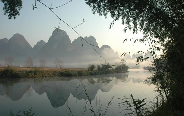 巴马自然景观-盘阳河