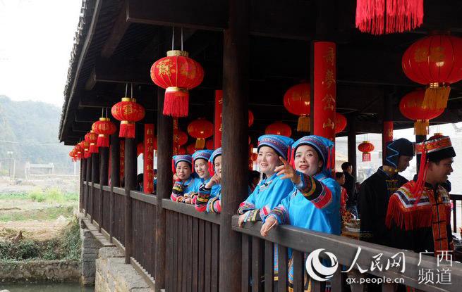 新春年夜饭:广西富川岔山村瑶族群众邀您过大年