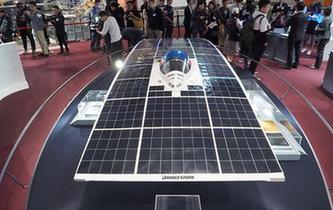 """香港举办""""太阳能车驱动未来""""展览"""