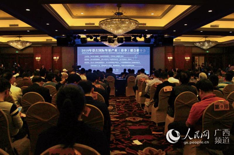 广西崇左加快发展坚果产业 打造中国-东盟特色食品加工基地