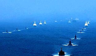 南海海域海上阅兵精彩影像曝光 全景呈现盛况!