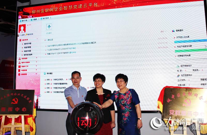 广西首个互联网企业党建联盟在柳州成立