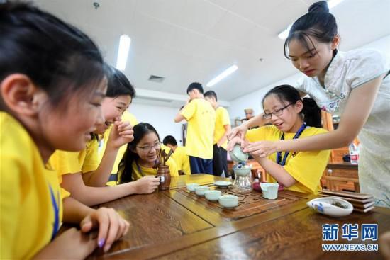 """柳州:华裔青少年开启""""中国寻根之旅"""""""