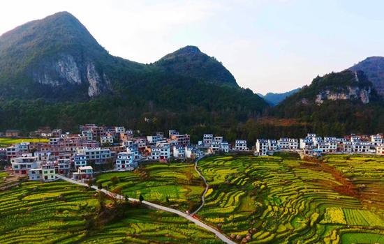 广西河池风景图带地名