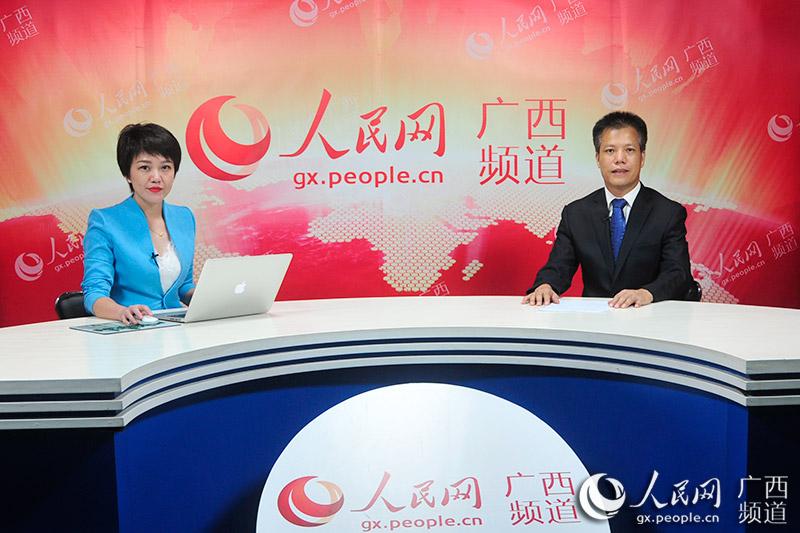 广西社会保险事业局党委书记、局长乐永红接受人民网嘉宾访谈